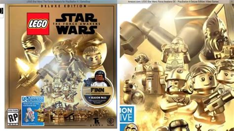 LEGO Star Wars: The Force Awakens Video Game Deluxe