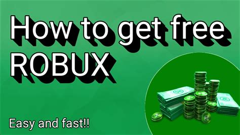 How to get free Robux Easy!! (2017) - YouTube