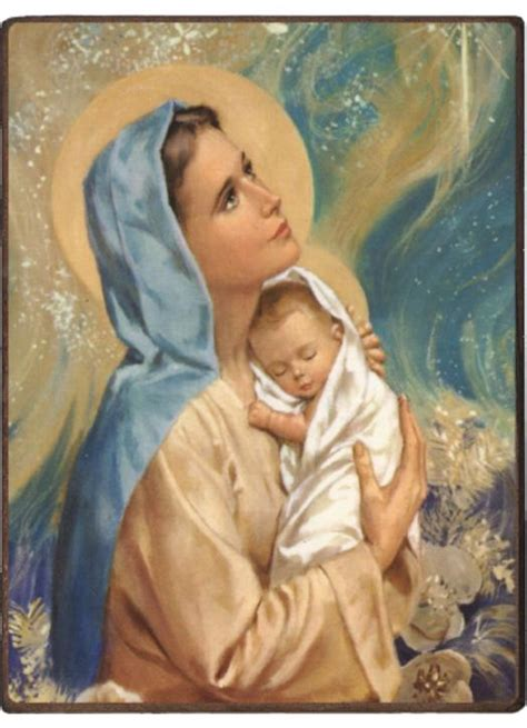 Religious icon: The Virgin and Child - Monastic products