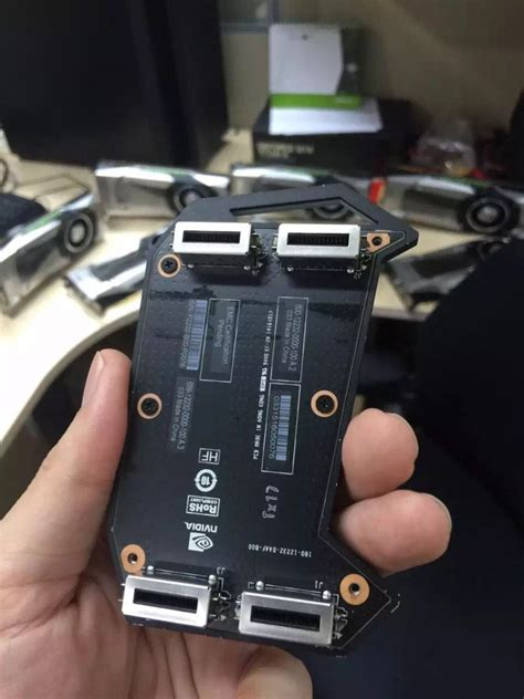 NVIDIA GeForce GTX 1080 PCB, GP104 Die and GDDR5X Pictured