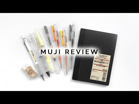 STAEDTLER TRIPLUS FINELINER AND MUJI PENS REVIEW   BLISS
