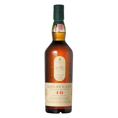 Lagavulin 16-Years Old Single Malt Whisky 43% with 2