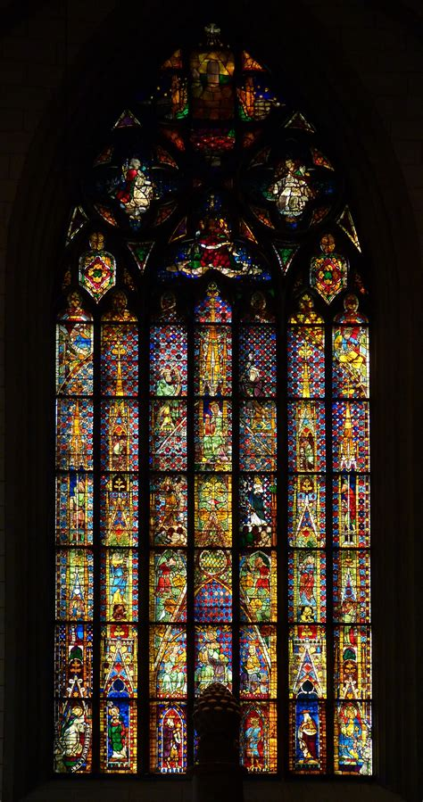 File:Augsburg Cathedral, stained glass window