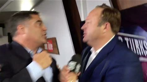 Cenk From The Young Turks and Alex Jones From Infowars