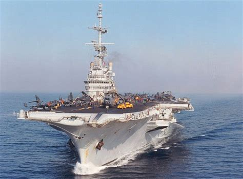 Clemenceau Aircraft Carrier - Pictures