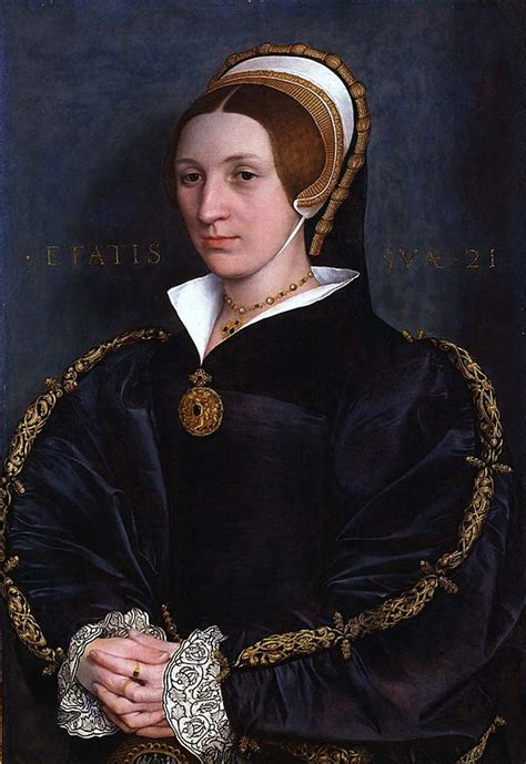 File:Holbein, Hans (II) - Portrait of a lady, probably of