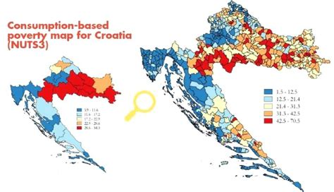 Croatia Poverty Maps – A Policy Tool to Combat Poverty and