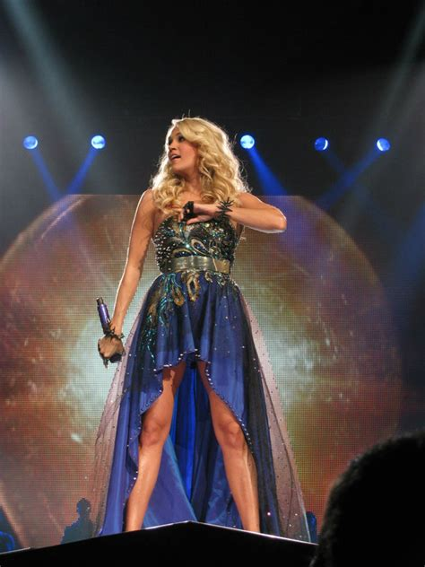 Carrie Underwood Cries & Flies On The Blown Away Tour
