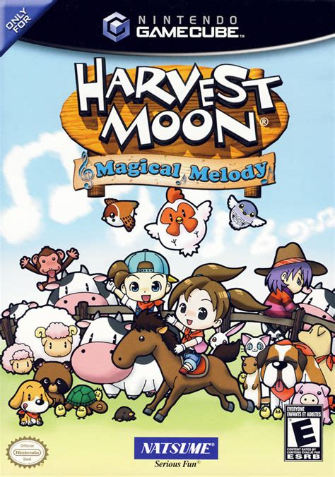 Harvest Moon Magical Melody Gamecube Game