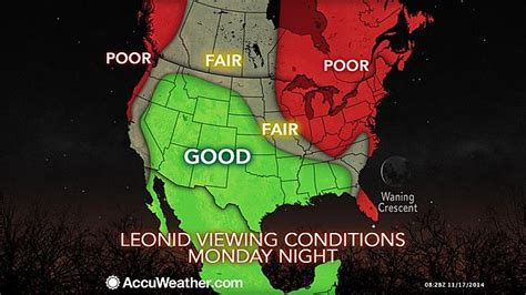 Leonid Meteor Shower 2014: Where to Watch Shooting Stars