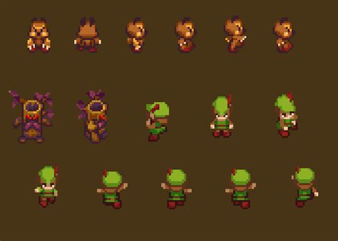 Tiny RPG - Forest   OpenGameArt