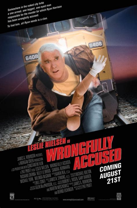 Wrongfully Accused DVD Release Date December 22, 1998