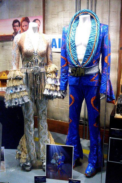 """Costumes from """"Mamma Mia""""   Hollywood costume, Abba"""