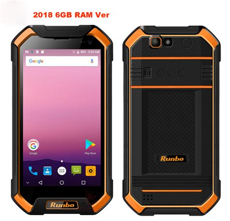 Runbo F1 Plus Android rugged Phone Waterproof Smartphone