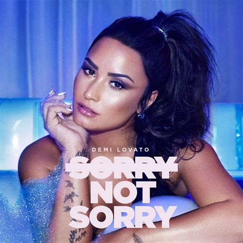 """Demi Lovato's """"Sorry Not Sorry"""" Rockets To #2 On US iTunes"""