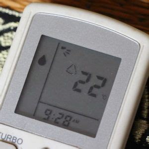 A new 'tweak' - Setting your air-con to 'Dry' mode
