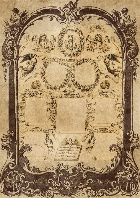 Free Images : family record, vintage, antique, victorian