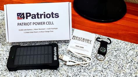 Patriot Power Cell Full Review: Solar Phone Charger - YouTube