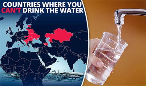 World Water Day: Countries where you shouldn't drink the