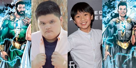 Shazam Casts More of Billy Batson's Friends | Screen Rant