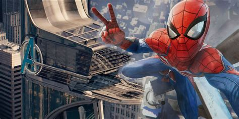 Spider-Man PS4 Map Confirms The Avengers Tower In New York