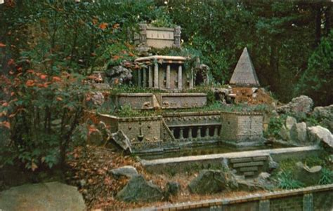Hanging Gardens Of Babylon And Pyramid, Ave Maria Grotto