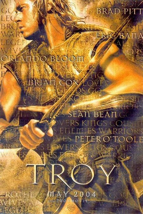 Troy (2004) Poster #1 - Trailer Addict