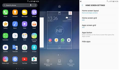 Download Official Samsung Galaxy S8 Launcher From Play