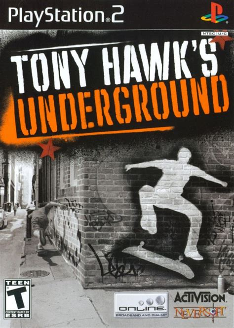 Tony Hawk's Underground for PlayStation 2 (2003) - MobyGames