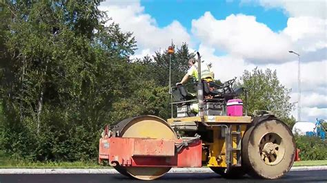 Paving / Asfaltering - Volvo FH Ingersoll Rand Dynapac