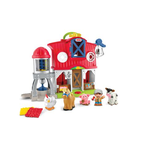 Fisher-Price Bondgård Little People Caring for Animals