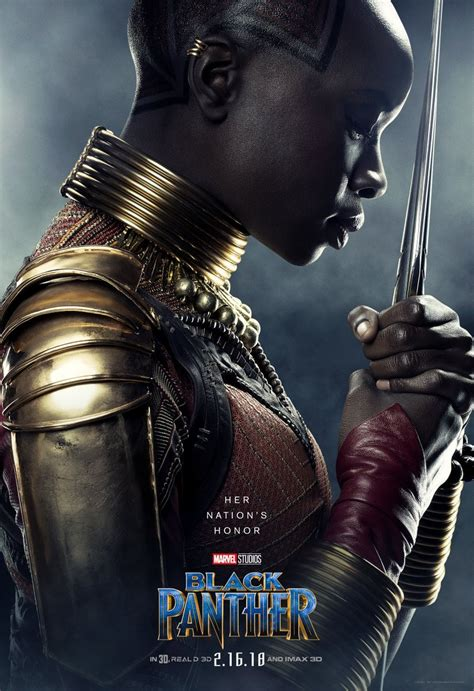Black Panther Character Posters Introduce Wakanda's Heroes