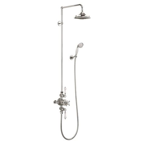 Avon Exposed Shower Valve with 12 inch Fixed Head, Rigid