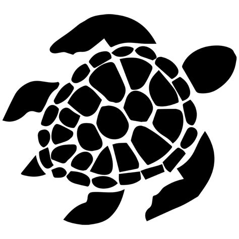 Hawaiian sea turtle clipart black and white save your home