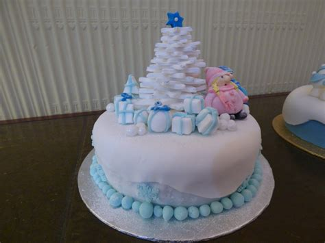 Beautiful Christmas Cakes - Abbot's Hill