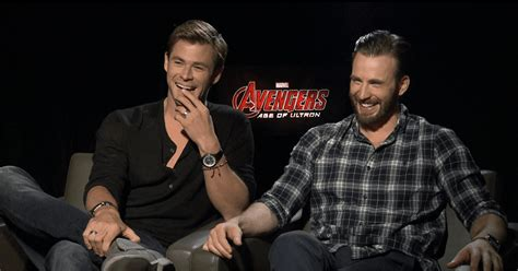 The Avengers Age of Ultron Cast Interview (Video