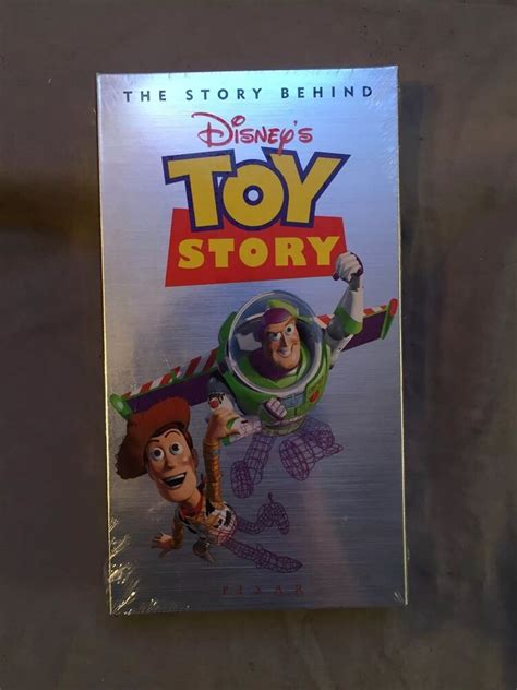 The Story Behind Disney's Toy Story [VHS] Video Pixar