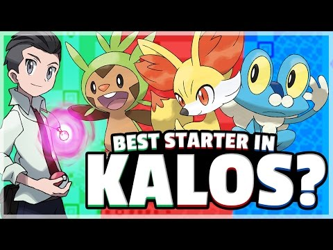 Pokemon X and Y Starters Evolutions Revealed? - YouTube