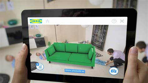 Place IKEA furniture in your home with augmented reality