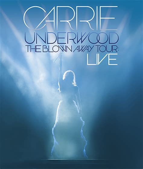 Carrie Underwood The Blown Away Tour Live DVD Cover Art
