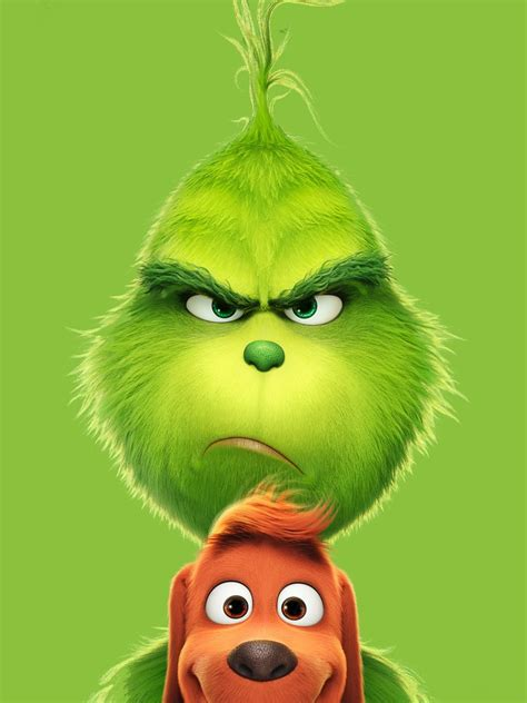 Wallpaper The Grinch, Animation, Comedy, 2018, 5K, Movies