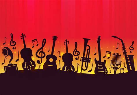 Free Music Background Vector - Download Free Vector Art
