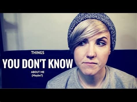 THINGS YOU DON'T KNOW ABOUT ME (#2) - YouTube