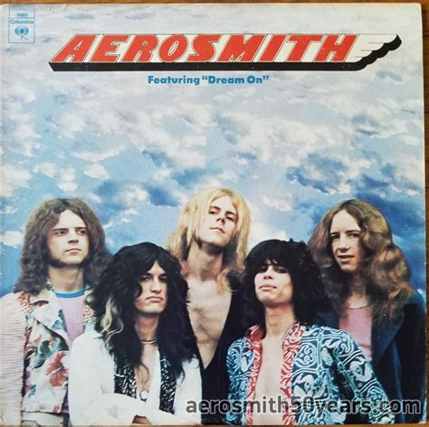 """Aerosmith- Featuring """"Dream On"""" 1976 Re-issued Cover With"""