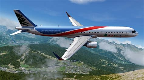 Middle East Airlines MEA New Colours Airbus A321