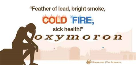 Oxymoron: Definition and Examples of Oxymoron | Ifioque