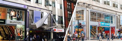 West One Shopping Centre, London: location, fashion stores