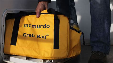 Commercial Vessel Safety Grab Bag XL | Waterproof Carrier