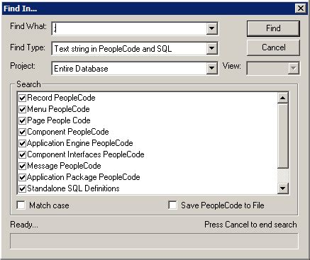 Export PeopleCode to File   PeopleSoft Wiki