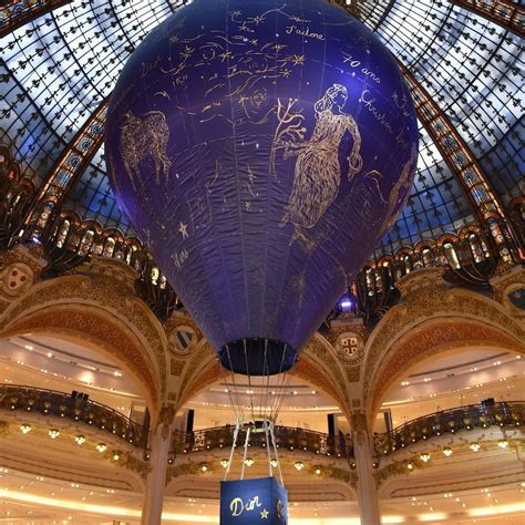 Dior Turn 70 With An Astrology Balloon At Galerie Lafayette!